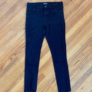 Express Leggin Mid Rise Stretch Jeans